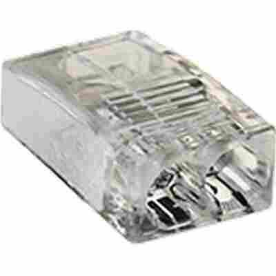 Verbindungsklemme 2-polig 'Baseline' kompakt, 2 x 0,5 - 2,5 mm², 3 Stück
