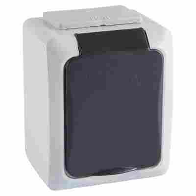 Steckdose 1-fach Aufputz Mini IP 54