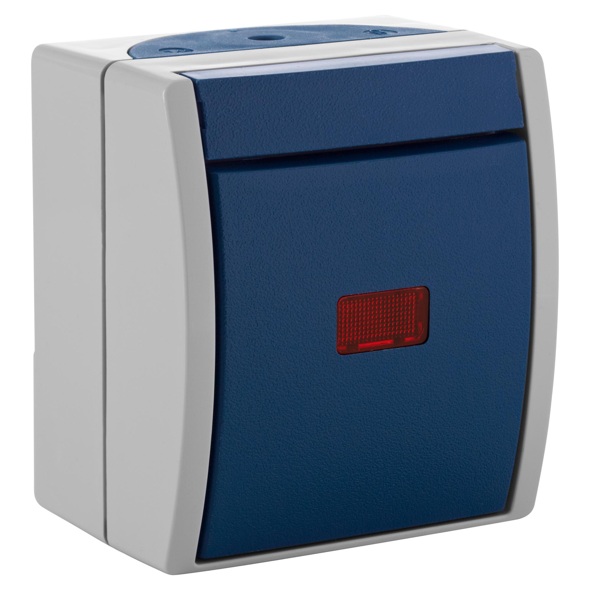 busch j ger kontrollschalter mit glimmlampe toom baumarkt. Black Bedroom Furniture Sets. Home Design Ideas