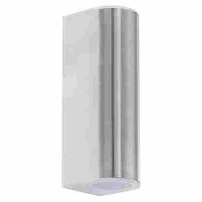 LED-Außen-Wandleuchte 'Cobos' Edelstahl, 2-flammig