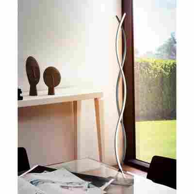 Eglo LED-Stehleuchte 'Lasana 2' chrom, 142 cm