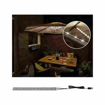 Mobile Strip 'Parasol-Light' Schirmbeleuchtung 4er-Set 4 x 40 cm