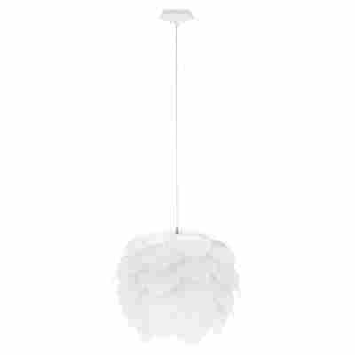 Pendelleuchte 'Filetta' E27 weiß Ø 42 x 110 cm