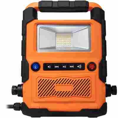 LED Arbeitsleuchte mit Bluetooth-Lautsprecher