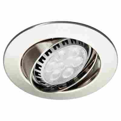 LED-Einbauleuchten schwenkbar ( 3 Stück ) Eisen/gebürstet 'Premium Line'