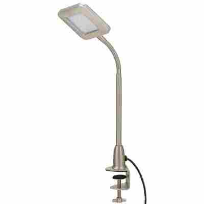 LED-Klemmleuchte nickelfarben 9 x 33,4 cm