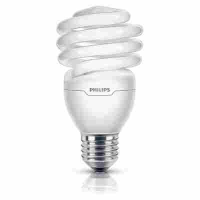 Energiesparlampe 'Tornado' tageslichtweiß E27 23 W