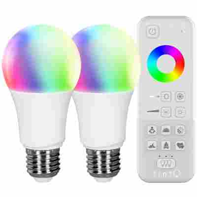 tint Starter-Set 2x LED-Lampe white+color plus tint-Fernbedienung