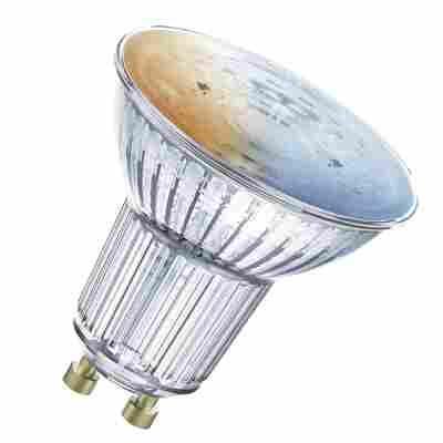 LED-Reflektorlampe 'Smart+' 5,5 cm 350 lm 5 W GU10 transparent Bluetooth Tunable White