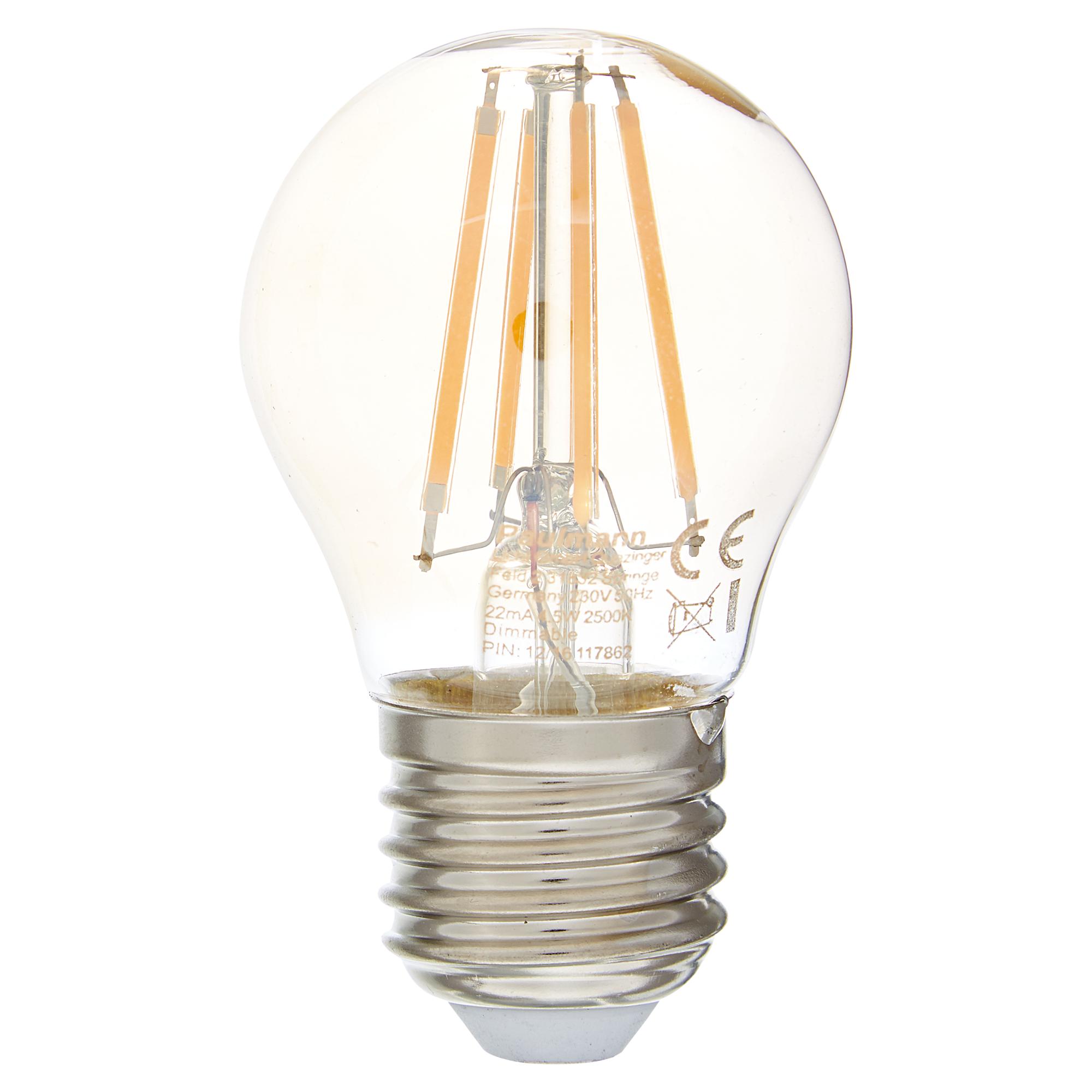 LED Lampe Tropfen Golden 4,5 W Ø 45 X 83 Mm
