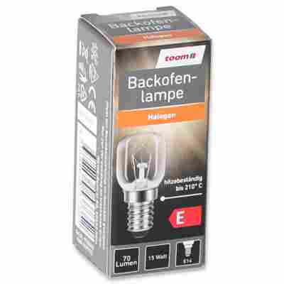 Backofenlampe 70 lm 15 W E14