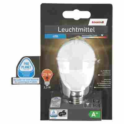 LED-Leuchtmittel E14 250 lm 3,3 W warmweiß