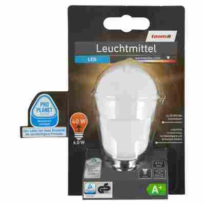 LED-Leuchtmittel E14 470 lm 6 W warmweiß