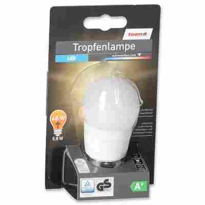 LED-Tropfenlampe E27 470 lm