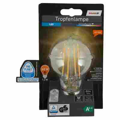 LED-Tropfenlampe E27 806 lm 7,2 W warmweiß