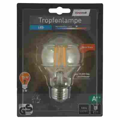 LED-Tropfenlampe E27 1055 lm 8 W warmweiß