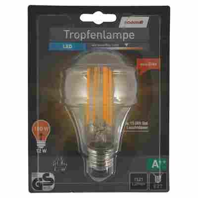 LED-Tropfenlampe E27 1521 lm 12 W warmweiß