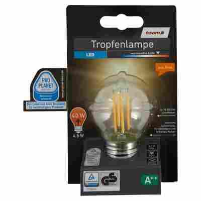 LED-Tropfenlampe E27 470 lm 4,5 W warmweiß