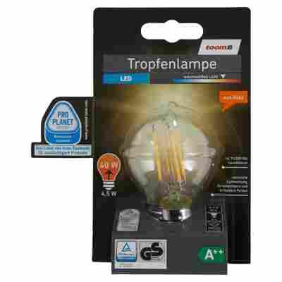 LED-Tropfenlampe E14 470 lm 4,5 W warmweiß