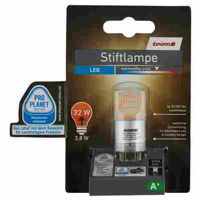 LED-Stiftlampe G9 345 lm 3,8 W warmweiß