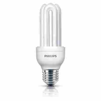 Energiesparlampe 'Genie' E27 18 W tageslichtweiß