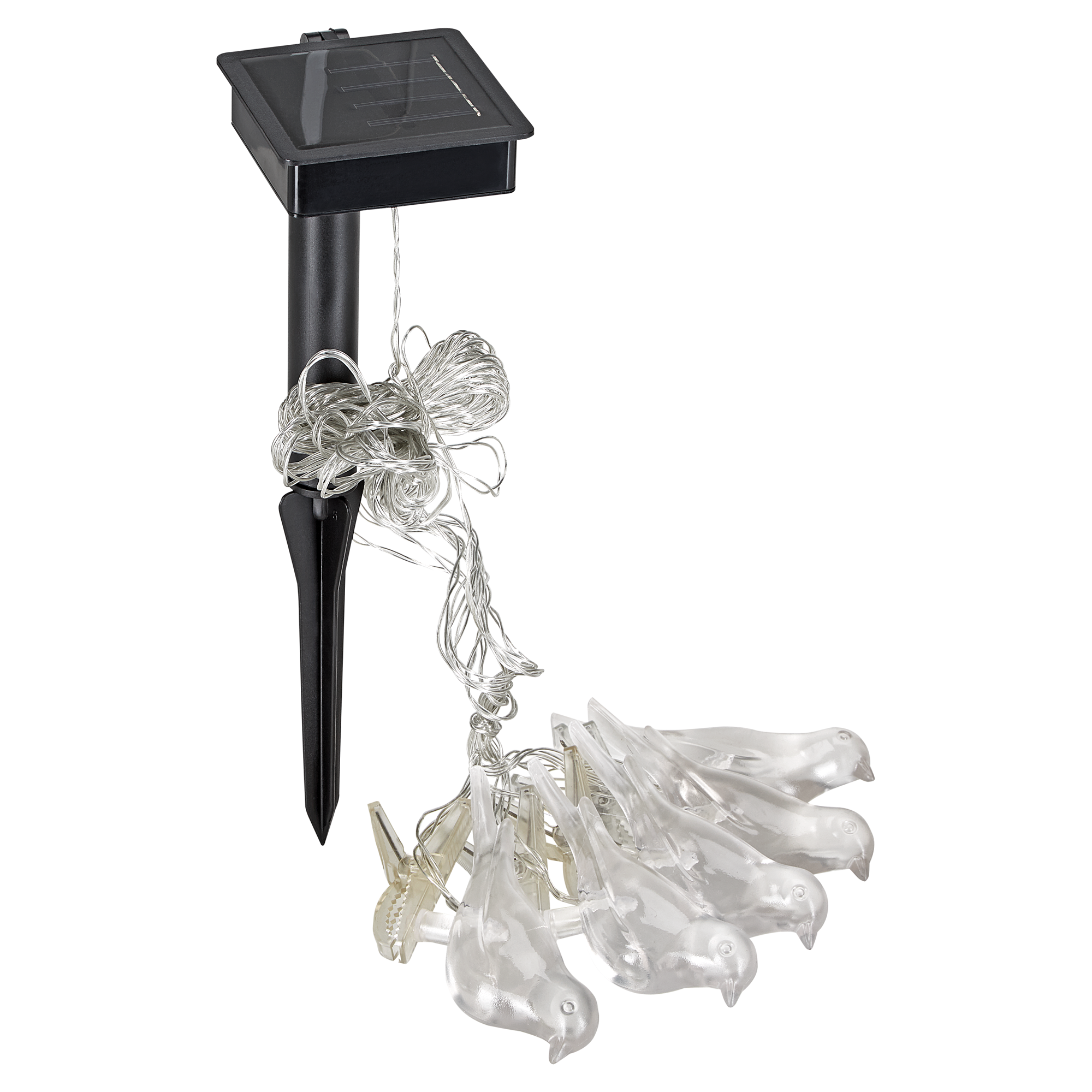 led solar lichterkette vogel toom baumarkt. Black Bedroom Furniture Sets. Home Design Ideas