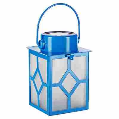 Minisolarlaterne 7,7 x 17 cm blau