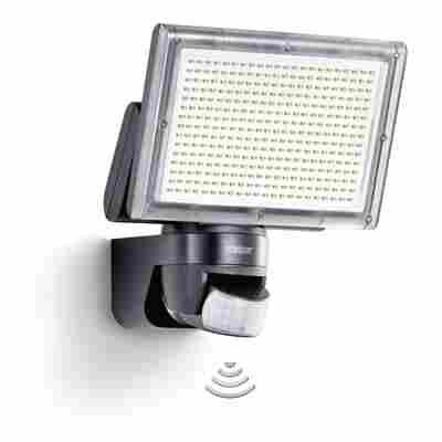 LED Stahler XLED home 3 schwarz mit Bewegungsmelder