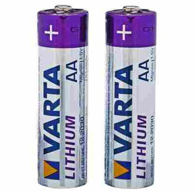 Batterien Lithium AA 2 Stück