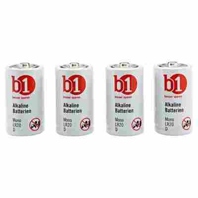 Batterie Alkaline Mono 4 Stück