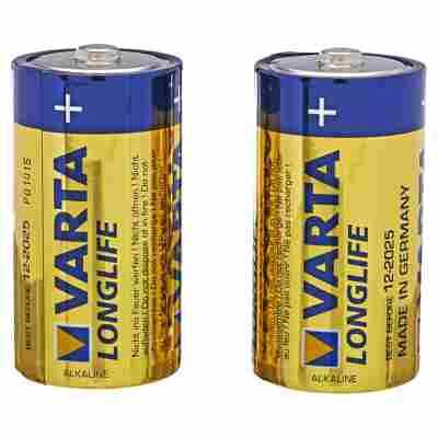 "Batterien ""Longlife"" C Alkaline 2 Stück"