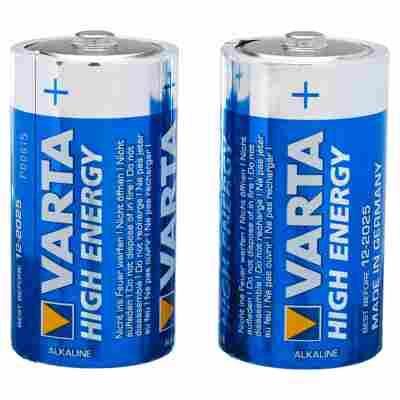 """Batterien """"High Energy"""" C Alkaline 2 Stück"""
