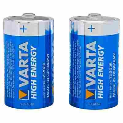 """Batterien """"High Energy"""" D Alkaline 2 Stück"""
