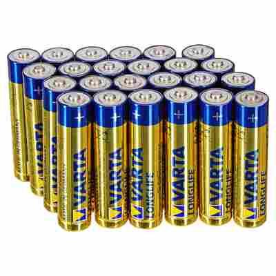 Mikrobatterien (AAA) 1,5 V 24 Stück