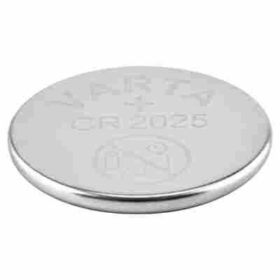 Knopfzellen High Quality Lithium CR2025 5 Stück