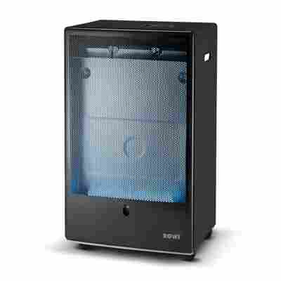 Gas-Heizofen 'Blue Flame Pro Premium Eco Smart' mit Thermostat schwarz