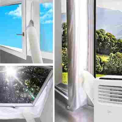 Fensterabdichtung 'Air-Block Klima-Sail 450 XXL' 450 x 39 cm