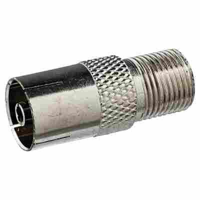 Adapter F-Buchse/IEC-Buchse