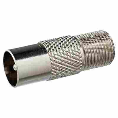 Adapter F-Buchse/IEC-Stecker