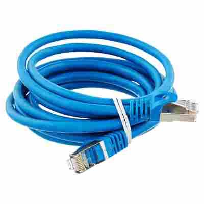 S/FTP-Netzwerkkabel CAT 6 blau 2,5 m