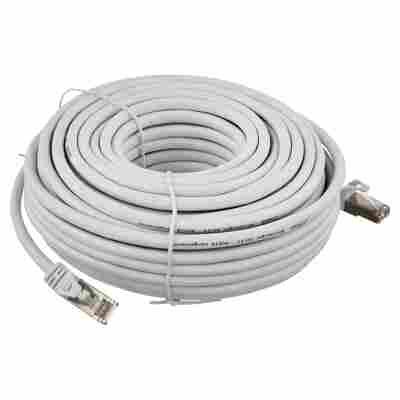 S/FTP-Netzwerkkabel CAT 6 weiß 20 m