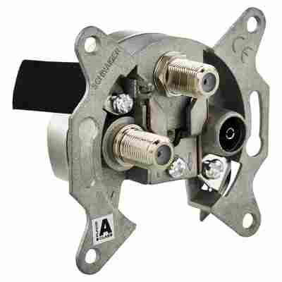 Einzelanschlussdose SAT-ZF DSE652 3-Loch