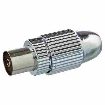 """IEC-Buchse """"Antenna"""" Ultimate silbern"""