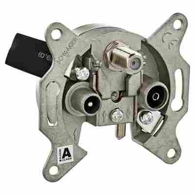 Durchgangsantennendose Breitband RDS660 3-Loch 16 dB