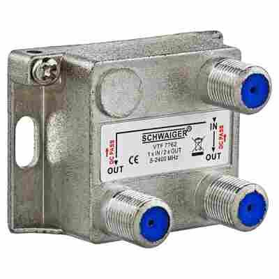 SAT-Verteiler 2-fach 4 dB
