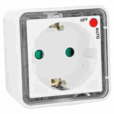 Kopp LED-Nachtlicht als Zwischenstecker mit Auto-Schalter