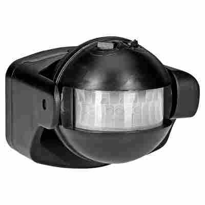 Infrarot-Bewegungsmelder 180° schwarz