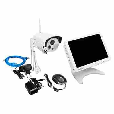 "Überwachungskamera-Set ""Security Premium"" TX-29 10-tlg."