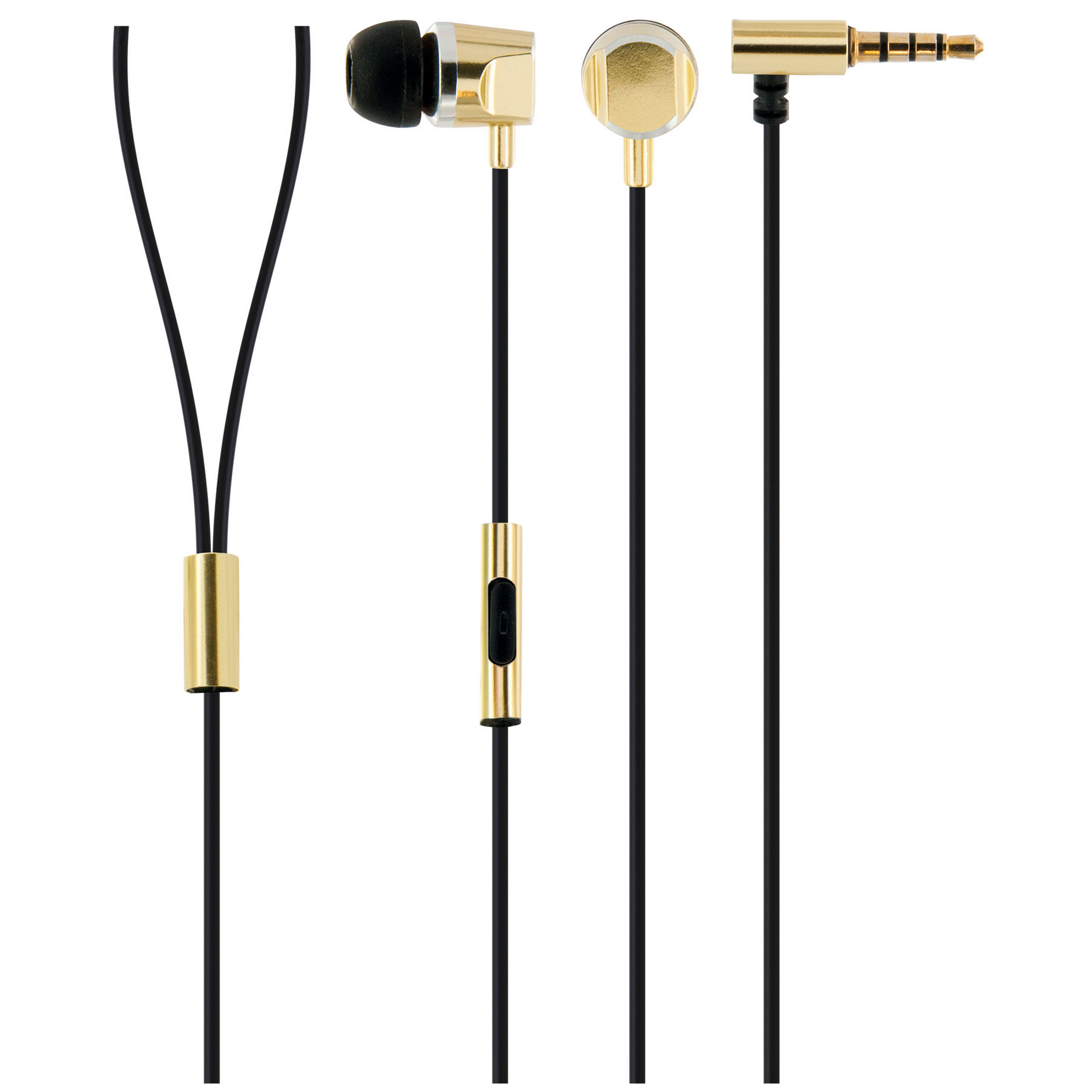 Schwaiger Headset In-Ear gold