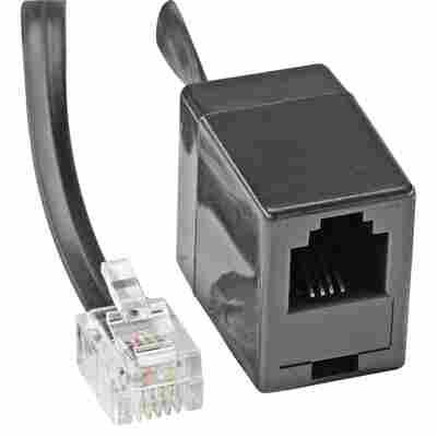 Verlängerungsleitung Telefon WE 6/4 6 m